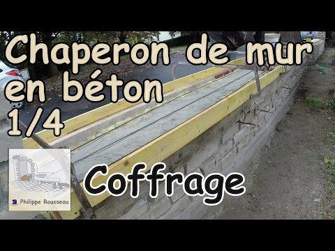 Pose Chaperon De Mur Couvertine En Béton Partie 1 4