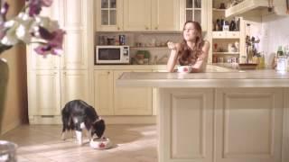 Климова Маруся в рекламе корма для собак Molina