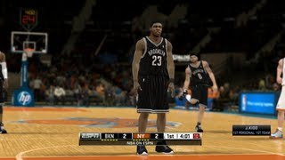NBA 2K13 - New York Knicks vs. Brooklyn Nets (NBA 2K12 PC)