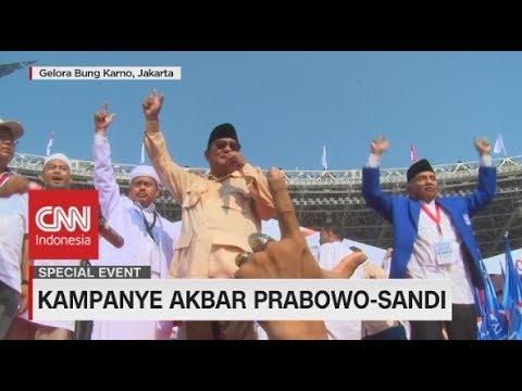 Pidato Berapi-Api Prabowo di Kampanye Akbar di GBK - FULL