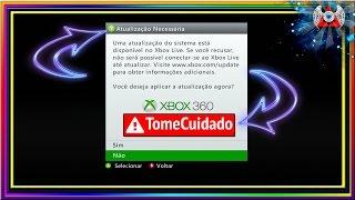 CUIDADO - Xbox 360 RGH pedindo atualização da Xbox Live