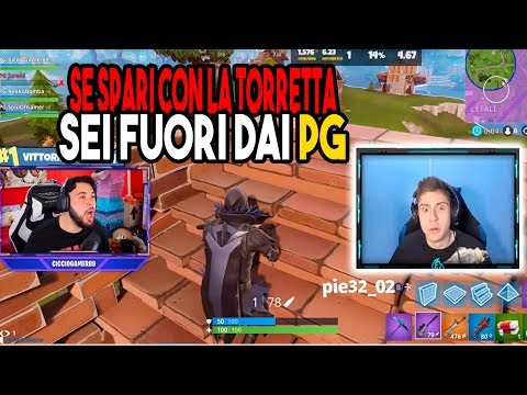 CICCIOGAMER89 LITIGA CON KEKKOBOMBA IN LIVE SU TWITCH FORTNITE