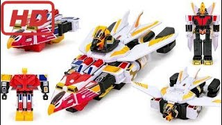 PowerRangers JetMan imitation Hawk OverLord JetFighter Union Docking Robot Toys Tr Troll team ahihi