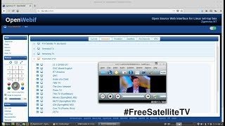 OpenATV Enigma Satellite Receiver streaming to a Computer - How to set up