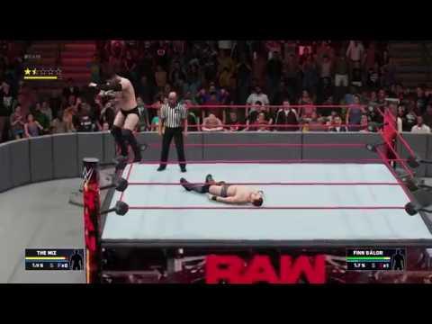 WWE2K18 not hit Coup de Grace