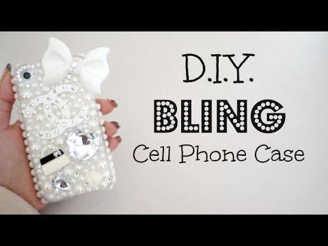 DIY Bling 3D Cell Phone Case!