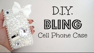 DIY Bling 3D Cell Phone Case!