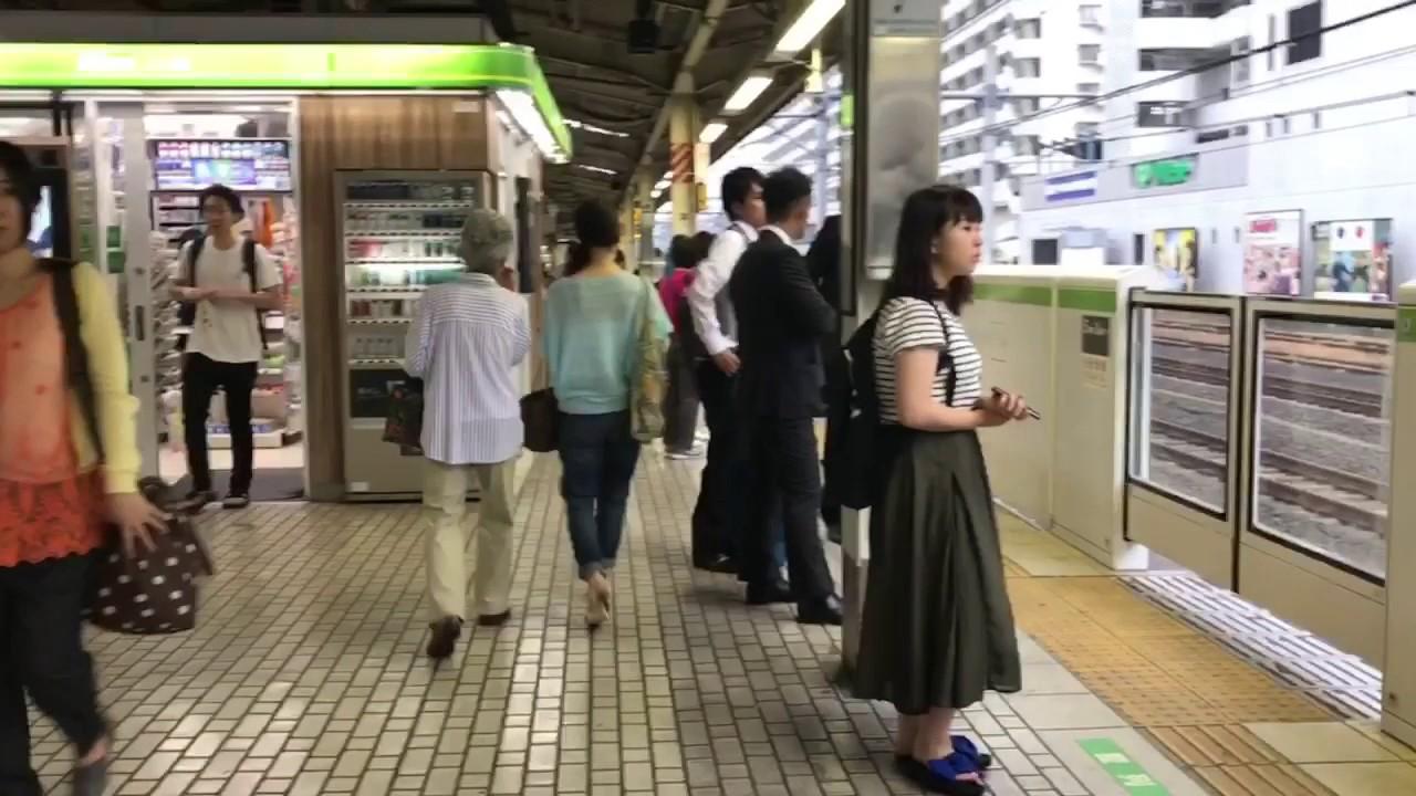 [環狀鐵路] 日本JR山手線E235系電車品川至濱松町+E231系電車巢鴨至 ...