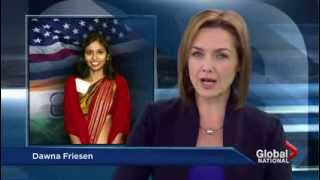 U.S. and India in diplomatic row