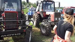 Боевые трактора после гонок на БИЗОНЕ 20 мая 2018