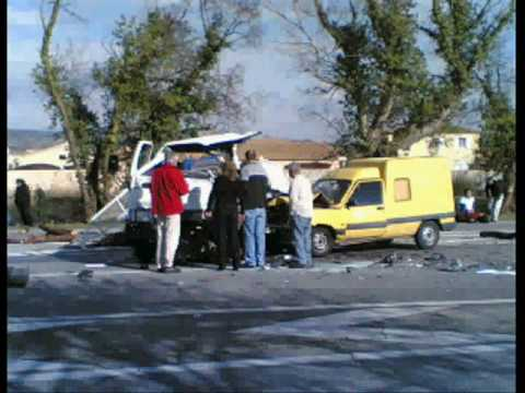accident mortel a salon de provence sw 3 1 youtube