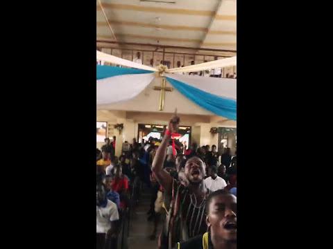Katanga Hall storms funeral