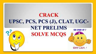 Crack UPSC, PCS, PCS(J), CLAT, UGC NET- SOLVE MCQs On Preamble of Indian Constitution