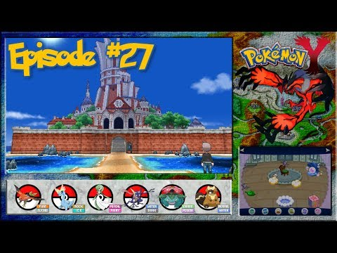 Pokemon Y - Out Of The Cave, Into Shalour City - Episode 27