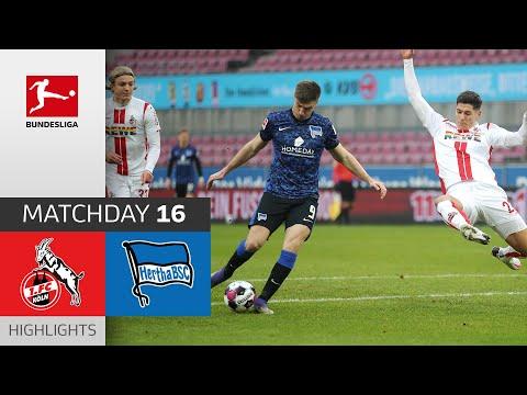 1. FC Köln - Hertha Berlin | Highlights | Matchday 16 – Bundesliga 2020/21