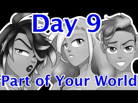 Day 9: Part of Your World