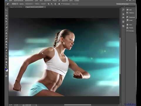 Как вырезать сложный объект в фотошопе - инструмент перо