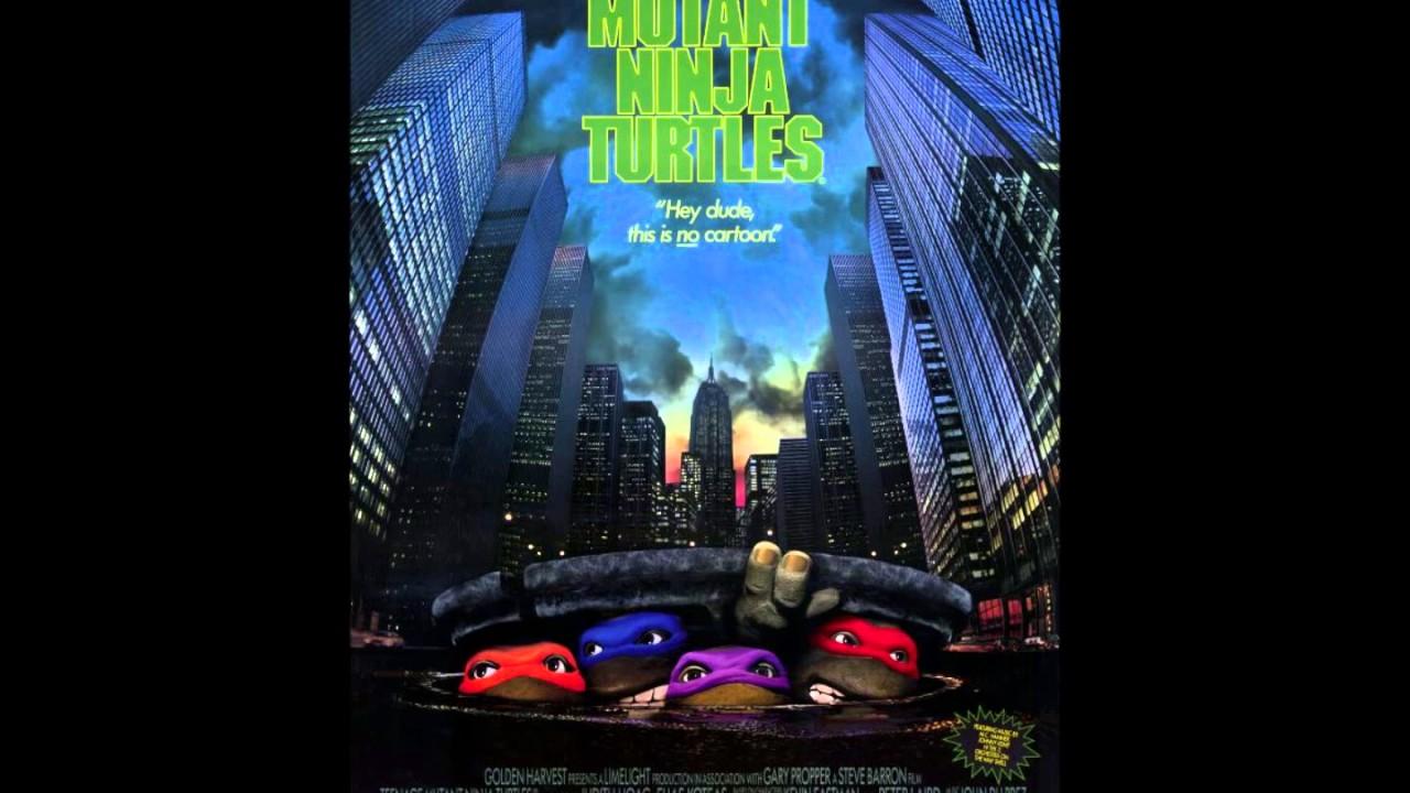 Gmail ninja theme - Teenage Mutant Ninja Turtles Theme Cover 1990