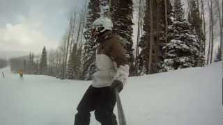 Snowboarding Park City, Utah - Tycoon