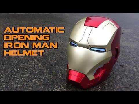 Iron Man helmet that works like MAGIC. | Walcom S7