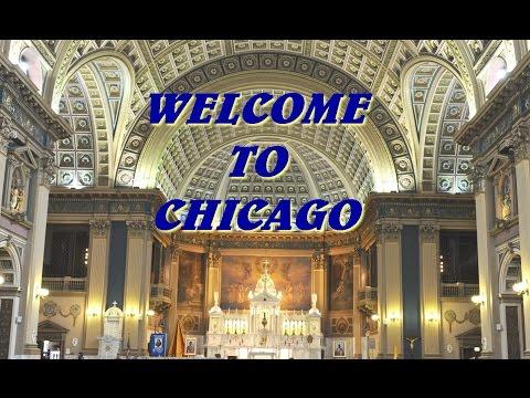 Traveling to Chicago Board of Trade via La Salle Boulvard