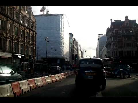 Driving in London - Hampstead Heath to Brixton (update)
