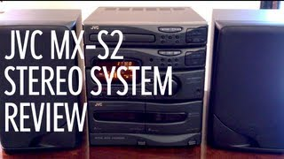 JVC MX-S2 Stereo System Review [1990s]