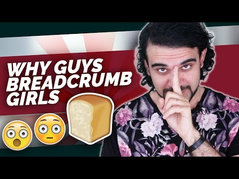 Why Guys BreadCrumb (Why He Doesn't Commit To A Date) and How to Stop Breadcrumbing - Ask Harvey #30