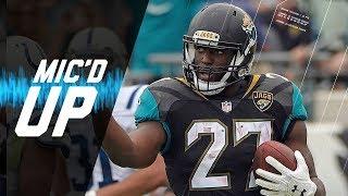 Listen to Jacksonville Jaguars running back, Leonard Fournette, mic...
