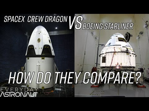 How SpaceX and Boeing will get Astronauts to the ISS
