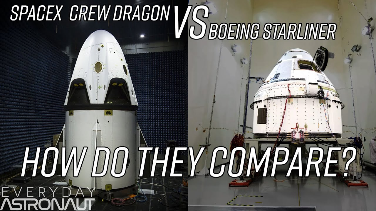 How SpaceX and Boeing will get Astronauts to the ISS - YouTube
