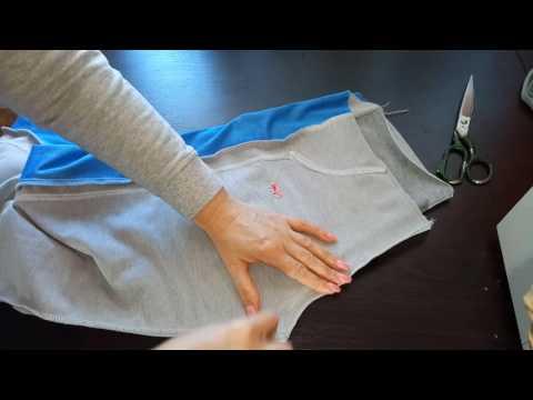Как увеличить спортивные штаны в размере.