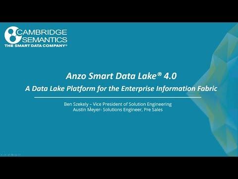Webinar - A Breakthrough Data Lake Platform for the Enterprise Information Fabric