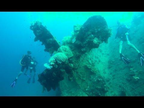 Diving Chuuk Lagoon March 2017