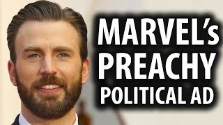 Marvel Actors Make Another Preachy Political Ad