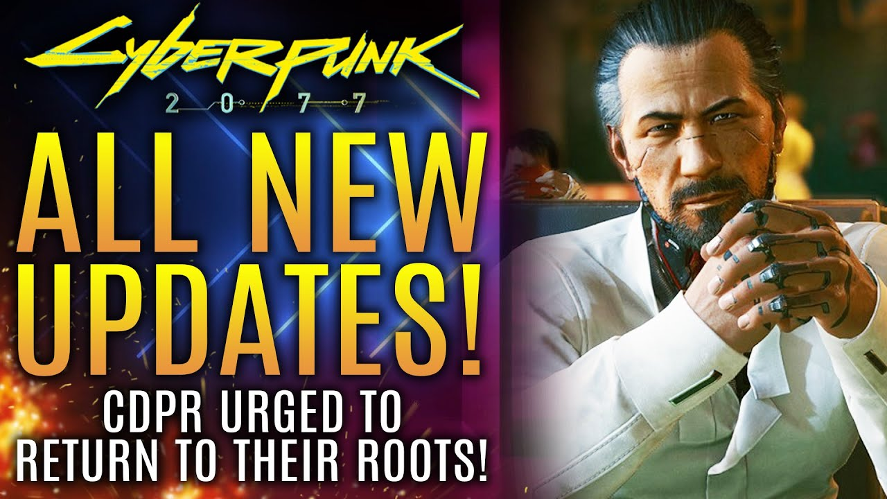 Cyberpunk 2077 - New Updates! Manager Urges CDPR To Return To Roots! God of War Ragnarok PS5 Updates