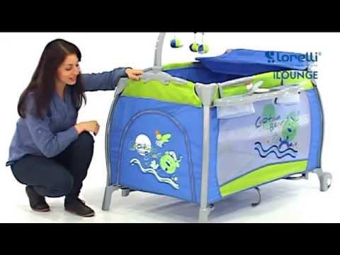 Бебешка кошара iLOUNGE от Lorelli