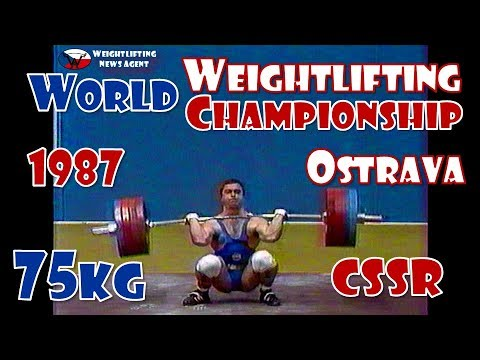 World Weightlifting Championship | 1987 | 75KG