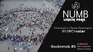 Linkin Park - Numb (Rocknmob #5). Dedicated to Chester Bennington