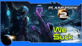 Planetside 2 - Noobs Descend on Auraxis! Multiplayer Action