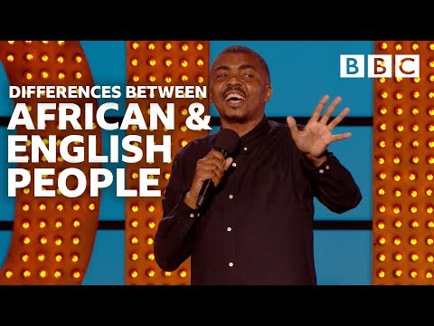 English people... why so rude? | Live At The Apollo - BBC