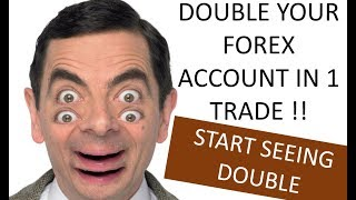 A Double your Forex Account in 1 trade MT4 trading Panel which make Forex trading so much easier