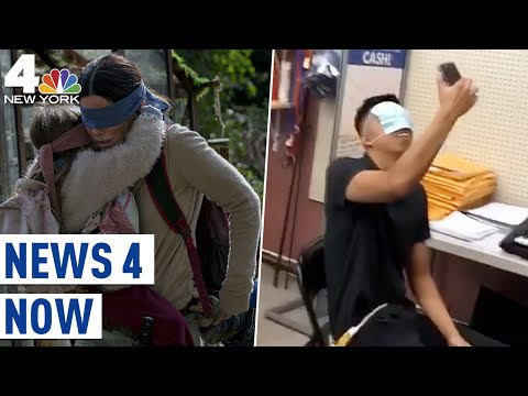 Bird Box Challenge Goes Viral, Netflix Asks Viewers Not to Try It | News 4 Now