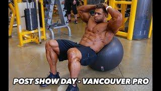 Bodybuilding motivation - regan grimes post show vancouver pro