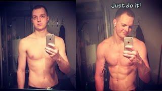 My 3 Month Body Transformation Трансформация тела за 3 месяца дома! Эктоморф.
