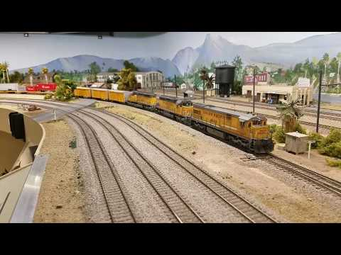 Union Pacific High-Priority Pulled By U30C 2889