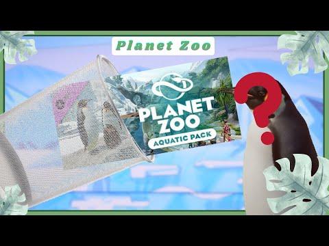 THE AQUATIC DLC IS TRASH! Let's Fix It! - Planet Zoo  