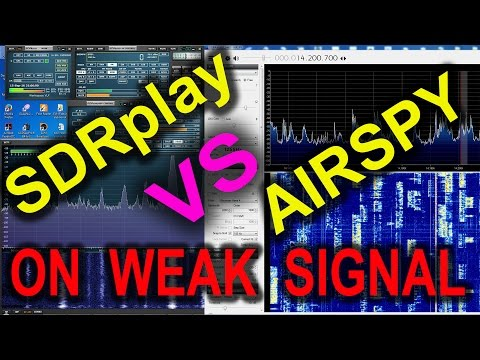 SDRplay and Airspy receiving Very WEAK FM broadcast signal