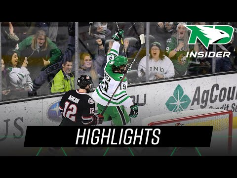 North Dakota vs. St. Cloud State | Highlights | UND Hockey | 1/26/19