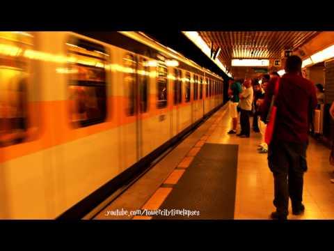Milan Metro Line 3 train clip